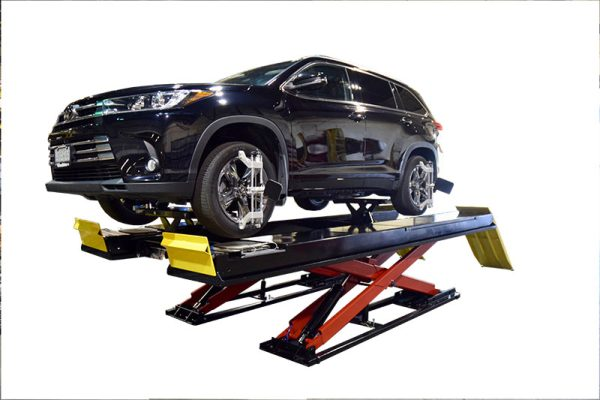 "14,000 lb. (6.4t) Capacity Precision Wheel Alignment or Service Lift/ Flush or Surface Mounted 203"" (5156mm) Long Runways"