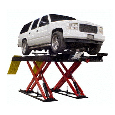 """16,000 lb. (7.3t) Capacity Precision Wheel Alignment or Service Lift / Flush or Surface Mounted 203"""" (5156mm) Long Runways"""