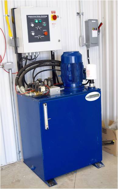 Twin Equalized Pump Power Unit with PLC Control & Remote Pendant
