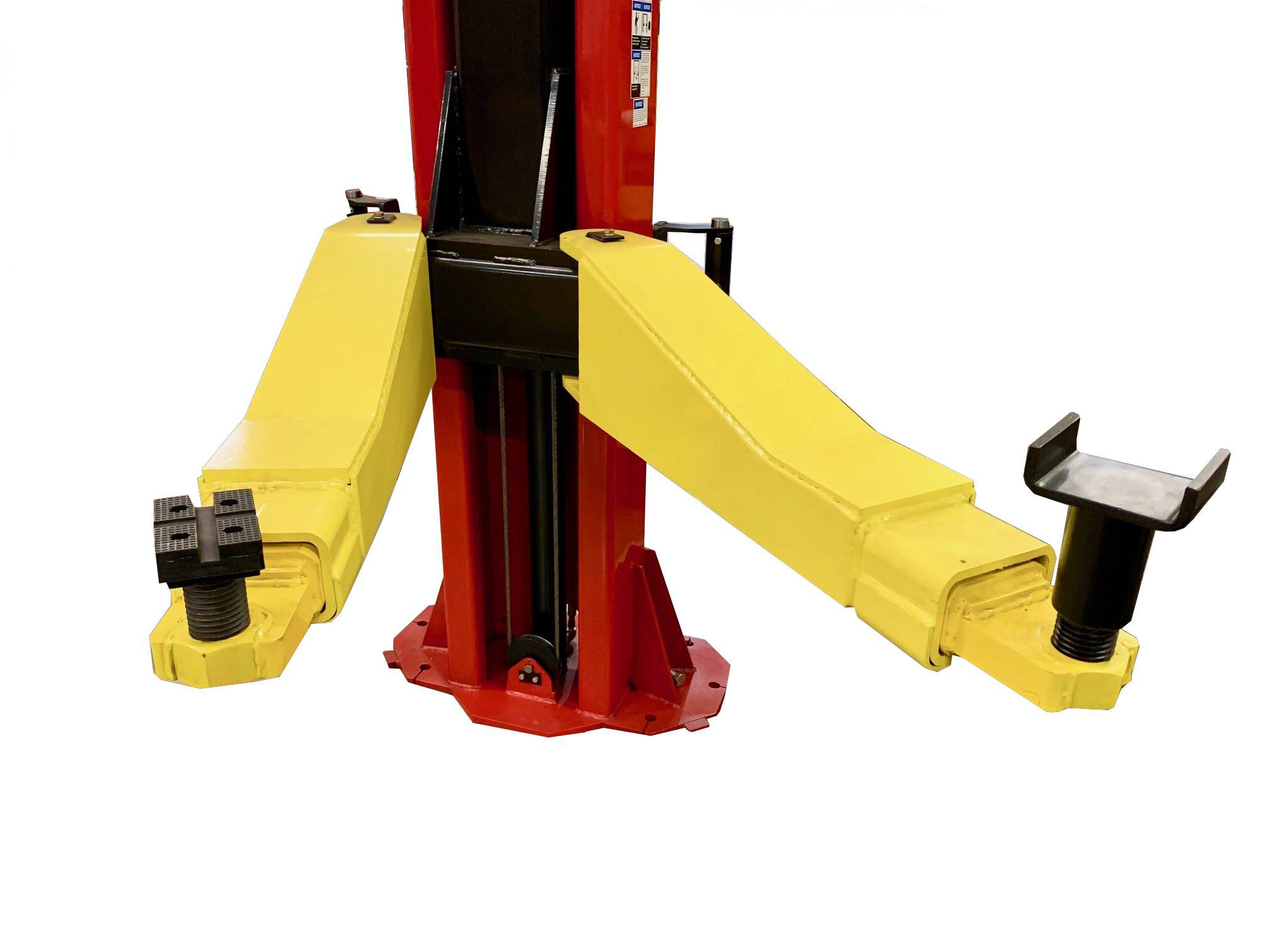 """20,000 lb. 2 pc. Lifting Arms Raise 85 & 1/2"""" with a Lowered Height of 5"""""""